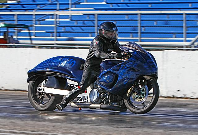"Rider Thien Le on grudge bike ""Geronimo"""