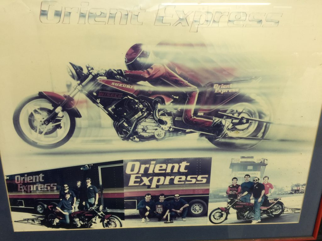 Terry Kizer, Orient Express