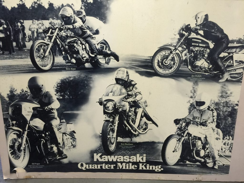 Terry Kizer Kawasaki Ad