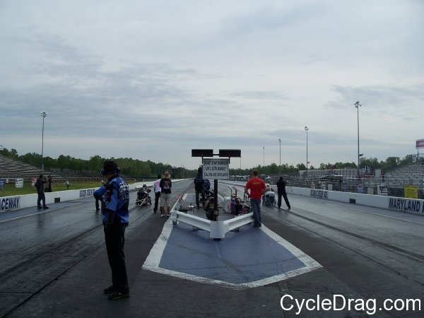 Maryland International Raceway Starting line