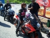 Woman Drag Bike Racer