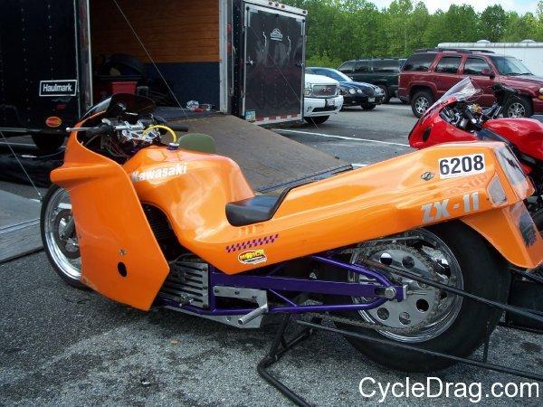 Kawasaki Zx-11 Dragbike