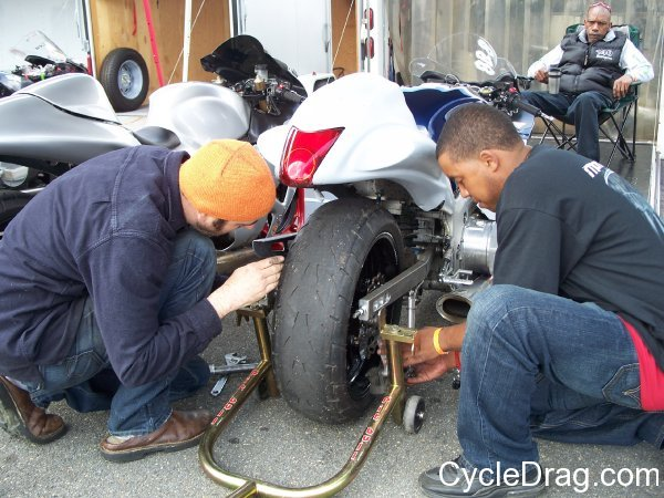 Dragbike maintenance