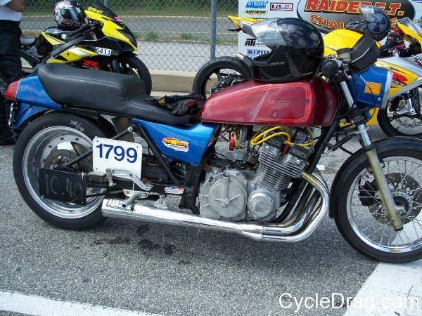 Suzuki GS Drag Bike