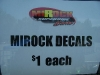 MIROCK Decals