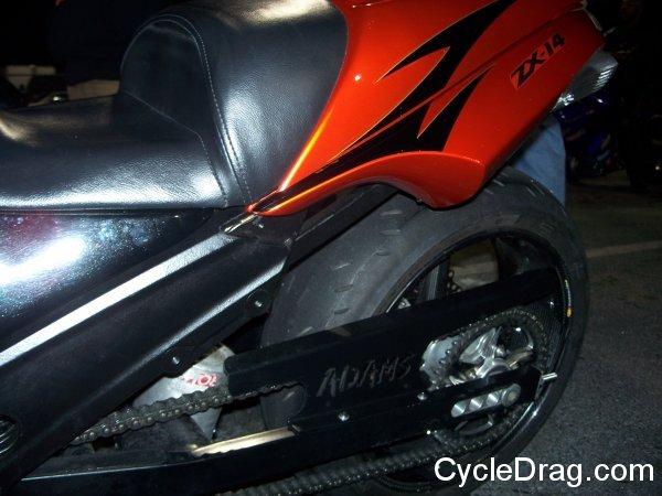 dragbike-fall-nationals-ZX-14 Swingarm