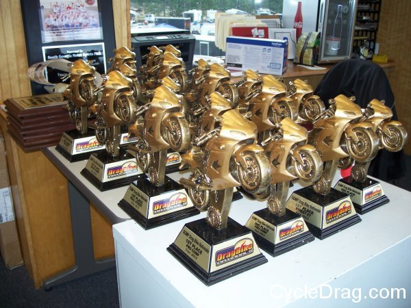 Dragbike Nationals Trophies