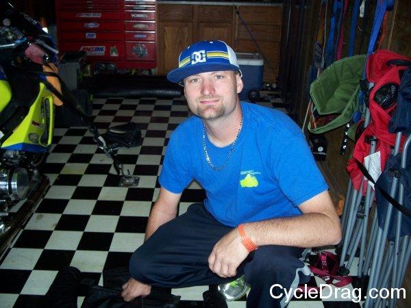 Greg Horton Dragbike Racer