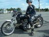 Black Kawasaki KZ Dragbike