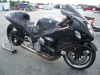 dragbike-fall-nationals-Black Suzuki Hayabusa