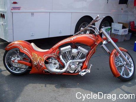 Kendall Johnson Custom Harley