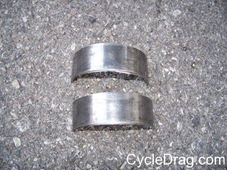 Broken dragbike Parts