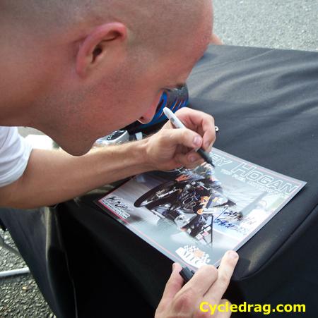 Korry Hogan Autograph