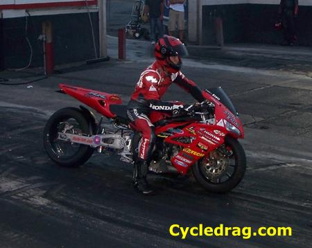 Frankie Stotz Honda