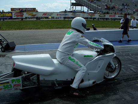 John Hall Pro Stock Motorcycle