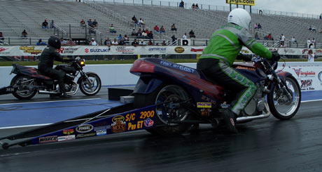 Mike Konopacki Motorccyle drag racing