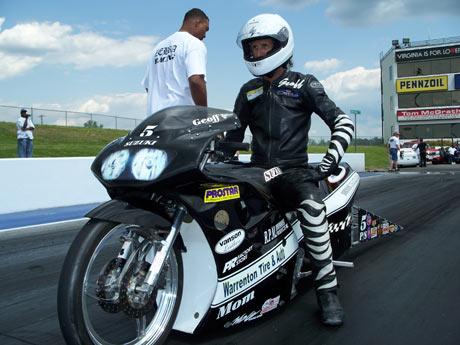 Geoff Godfrey Pro Stock Motorcycle