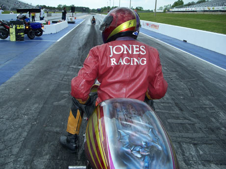 T.T. Jones Pro Mod Dragbike
