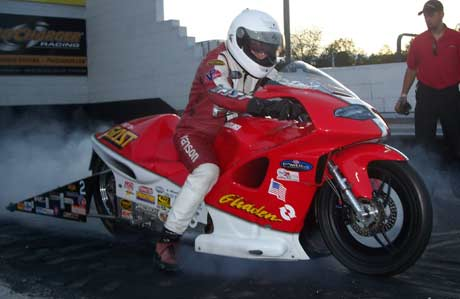 Paul Gast Pro Stock Motorcycle
