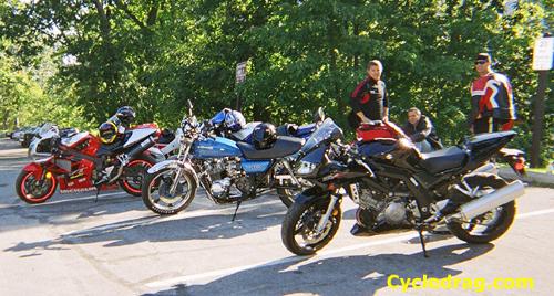 Bear Mountain Motorycle Rest Stop