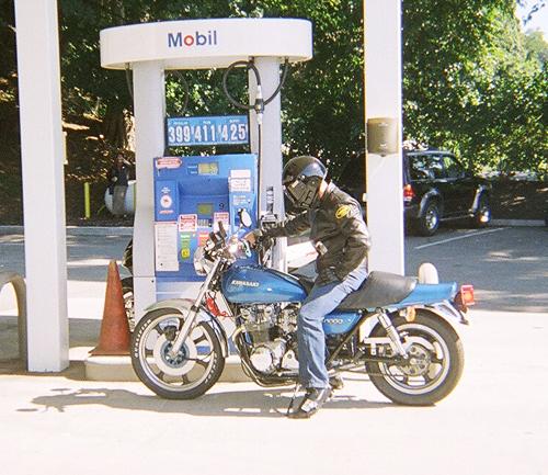 KZ 1000 Gas Fill Up