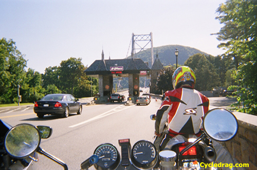 Motorcycle Toll Booth