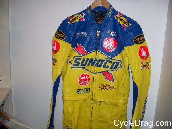 Dave Schultz Sunoco Leathers
