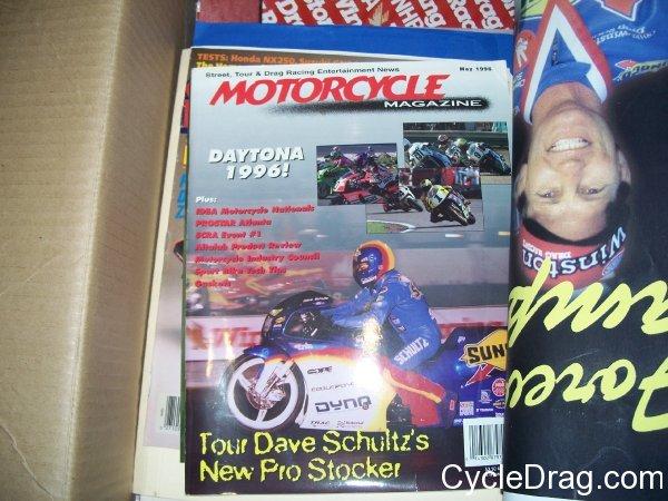 Dave Schultz Motorcycle Magazine