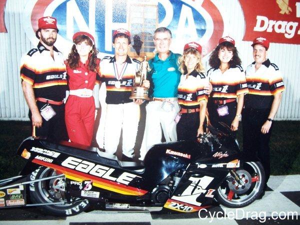 Dave Schultz NHRA Winner Eagle 1