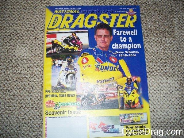 Dave Schultz National Dragster