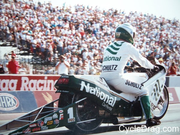 Dave Schultz National Pro Stock Motorcycle