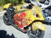 Suzuki Hayabusa Custom paint Dragon