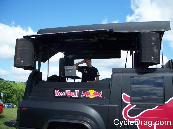 Red Bull DJ High Point