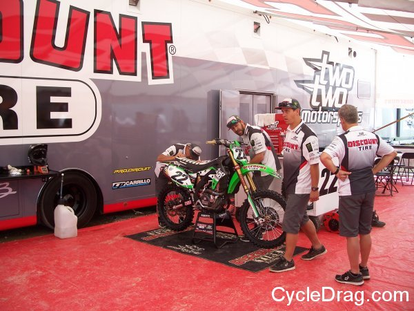 Chad Reed Pits