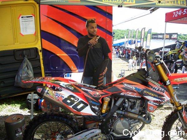 Pro Motocross KTM No. 80