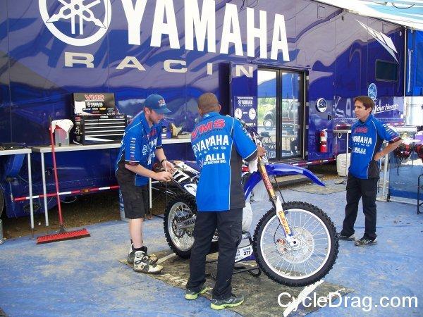 Yamaha Pro Motocross Racing