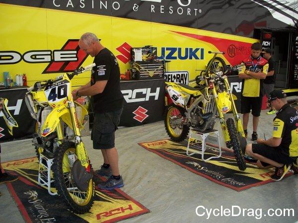 Soaring Eagle Motocross team