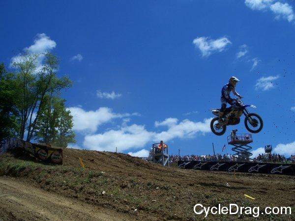 High Point Raceway Downhill Jump
