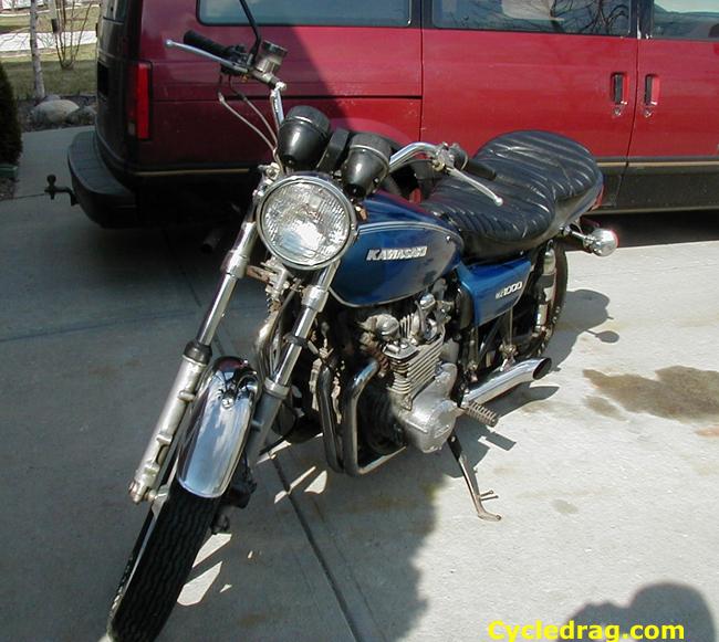 1977 KZ 1000 restoration