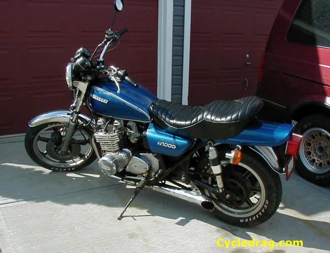 Blue 1977 KZ 1000