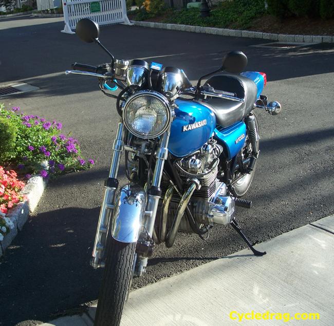 KZ 1000 Pro Street Dragbike