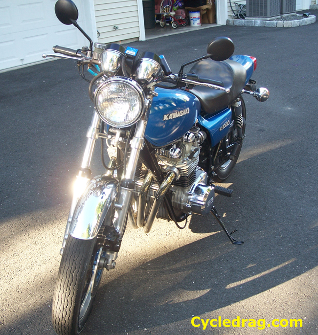 1977 KZ 1000 Front End