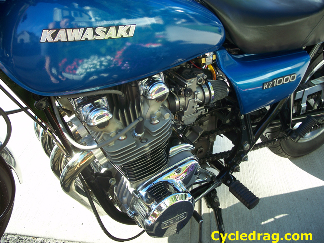 KZ 1000 Petcock and Motor
