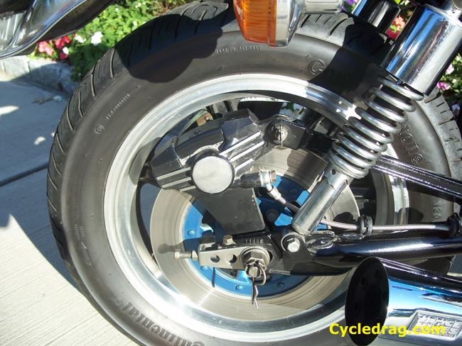 KZ 1000 Rear Wheel