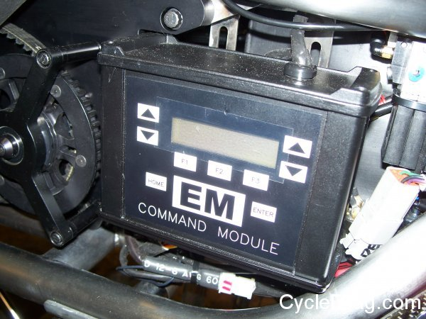 Top Fuel Motorcycle EM Command Module