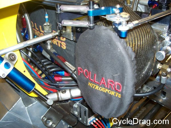 Dave Vantine Top Fuel Motorcycle Blower