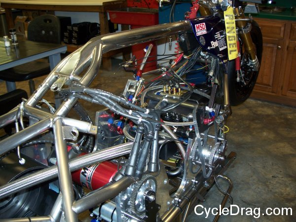 Top Fuel Motorcycle Chassis