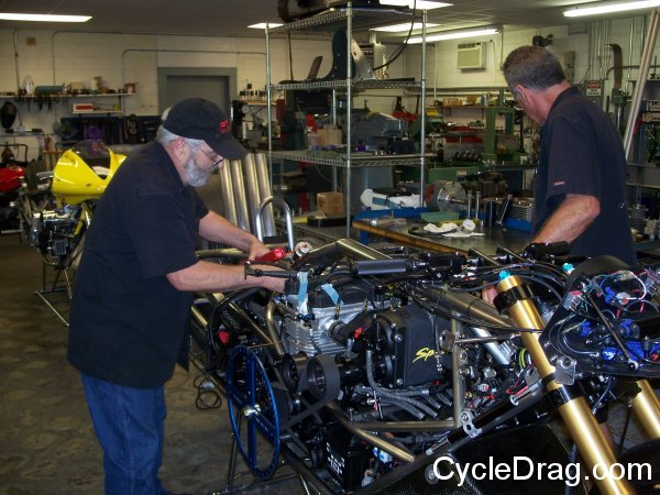 Steve McBride, Larry McBride Wrenching
