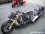 "Larry ""Spiderman"" McBride New Top Fuel Dragbike 2014"
