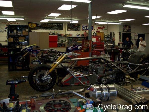 Larry McBride Top Fuel New Bike